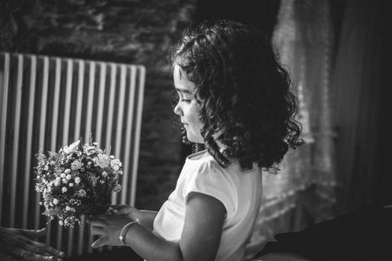 En la boda de su madrina