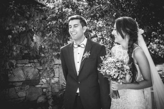 Risas en la ceremonia civil