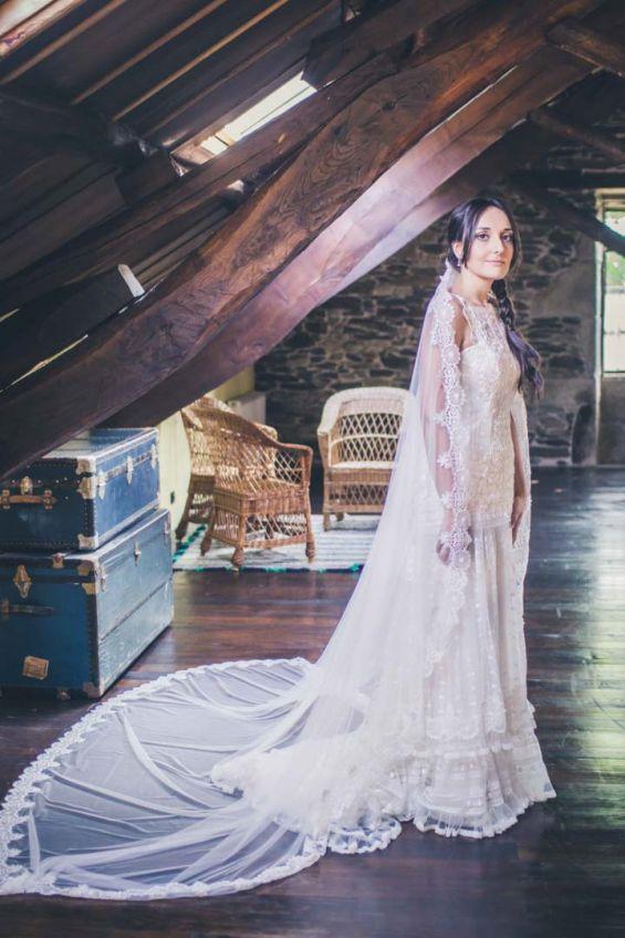La novia preparada para la boda