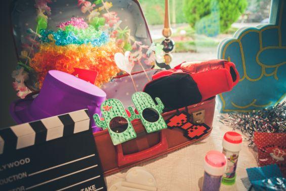 accesorios divertidos para el photocall