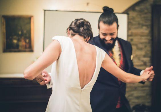 el baile de los recién casados